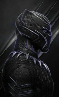 BLACK PANTHER MARVEL SKIN SUPER HERO