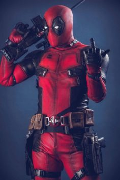 MARK KNIGHT RISES DEADPOOL COSPLAY PHOTOGRAPH | Marvel Comics
