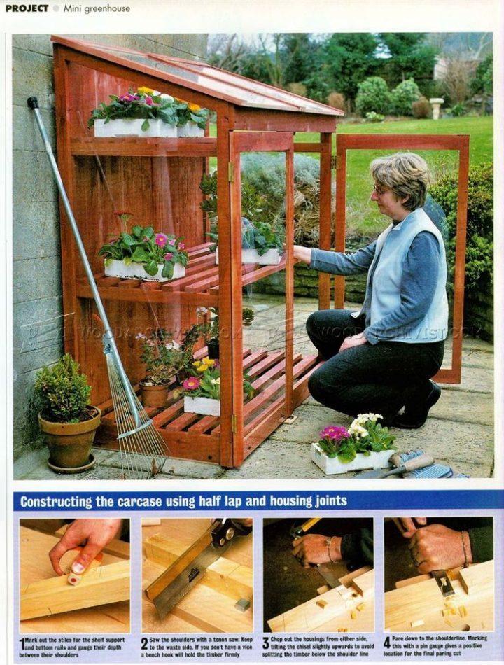Mini Greenhouse Plans – Outdoor Plans