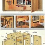 Wall tool cabinet drawings – Workshop solution plans