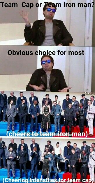 I AM AN IRON MAN OF THE TEAM UNTIL THE END