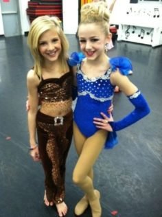 Paige and Chloe of the dance moms