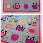 Crochet blanket PATTERN – Cat lover – crochet pattern for cat blanket | Knitting Patterns