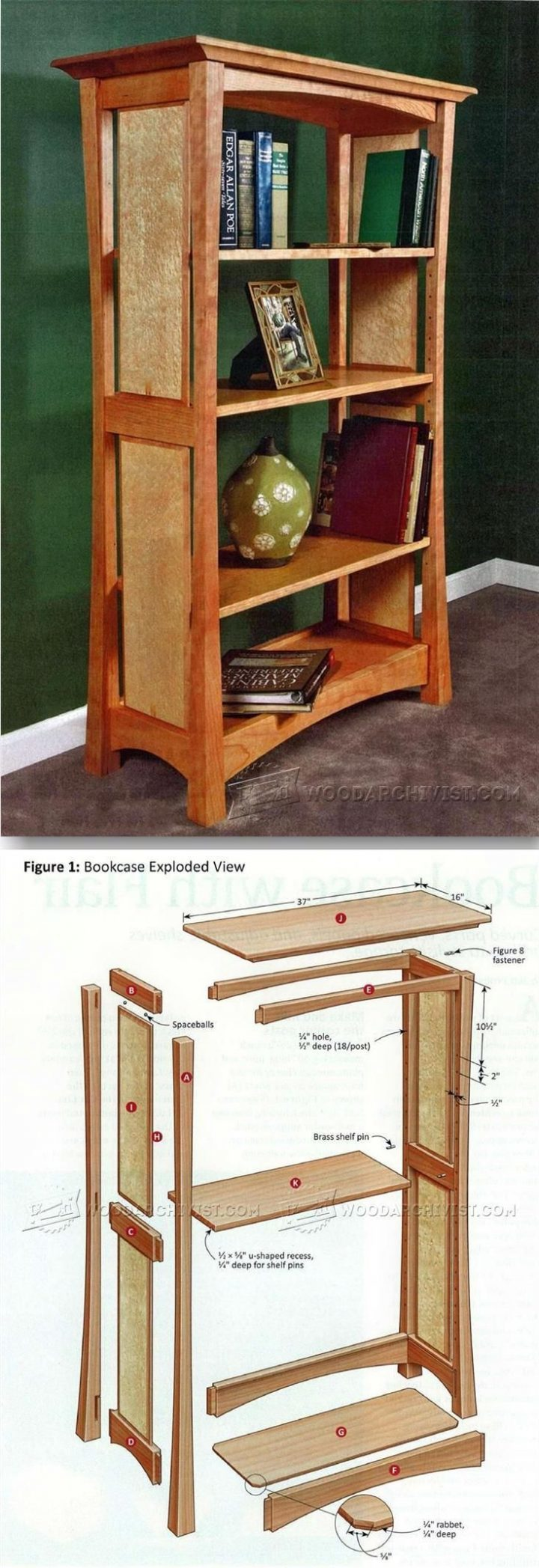 Build bookshelf – Furniture plans and projects   WoodWorking