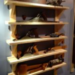 Shelving. In addition, storage hand saw. | WoodWorking