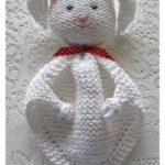 Bunny blanket Buddy free knitting pattern | Knitting Patterns