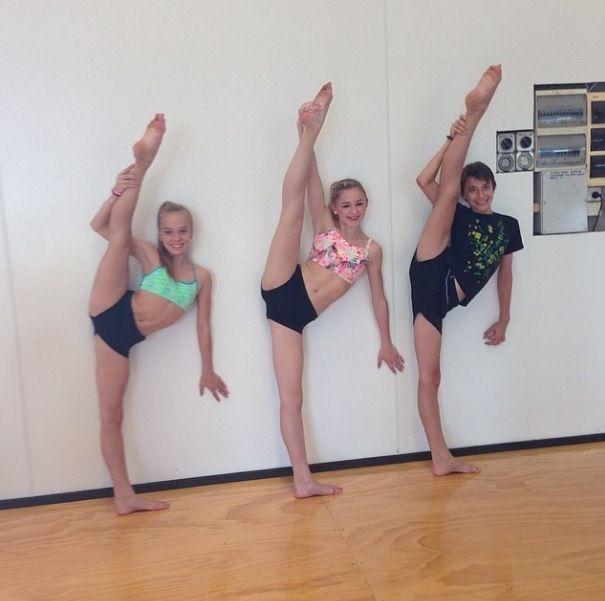 Chloe in her new dance studio!   Dance Moms