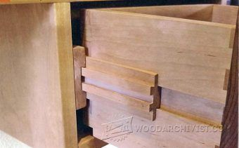 Making wooden drawer slides | WoodWorking