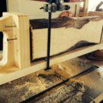 SUPER UNFANCY BANDSAW LOG SLED   WoodWorking