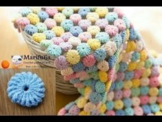 Makaron baby blanket is a very nice and easy example | Knitting Patterns