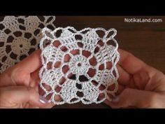 CROCHET Flower pattern for tablecloth Motif Hexagon tablecloth   Knitting Patterns