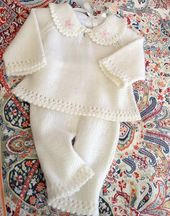 FABRIC PATTERN-Sweater and pant set for baby   Knitting Patterns