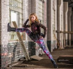 Chloe Lukasiak in her Just For Kix campaign   Dance Moms