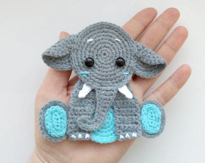 Elephant Baby Crochet Pattern - Briana K Designs | 540x680