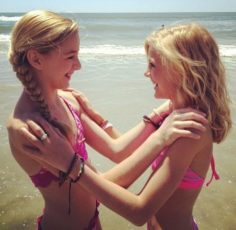 Chloe and Paige of the dancing moms   Dance Moms