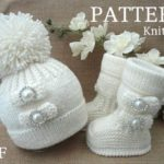 Knitting PATTERN Baby shoes Baby booties Baby hat | Knitting Patterns