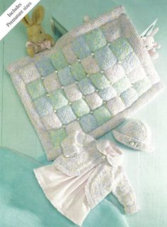 Baby knitted cardigans easy hat and blanket knitting   Knitting Patterns