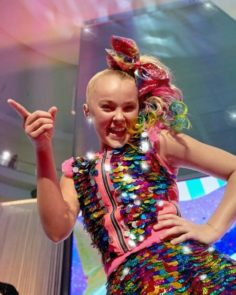 Jojo Siwa performs on stage at the Nickelodeon | Dance Moms