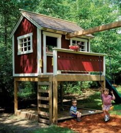 Playground games house | Woodsmith plans | WoodWorking