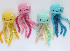 Jellyfish manufacture Amigurumi   Knitting Patterns