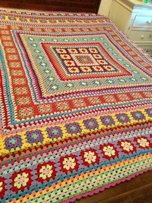 Crochet pattern Wendy Blanket from SweetAppleDesigns | Crochet patterns | Knitting Patterns