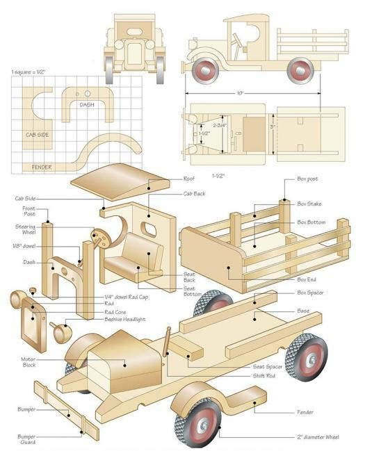 """Cabin stake truck """"C"""" 