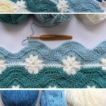 Free pattern – embossed blanket and daisy squares | Knitting Patterns