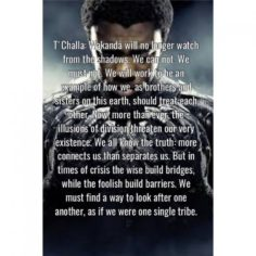 THE BEST QUOTE OF THE BLACK PANTHER | Marvel Comics